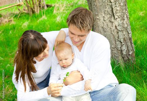 eltern und baby