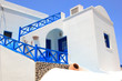 Classical Greek architecture of the streets in Oia