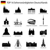 TOP 16 Sehenswuerdigkeiten Deutschland
