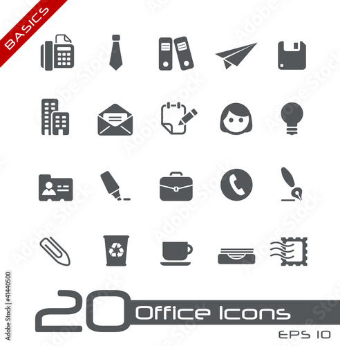 Office & Business Icons // Basics