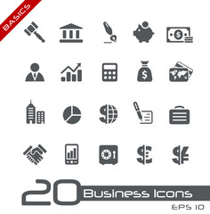 Business & Finance Icons // Basics