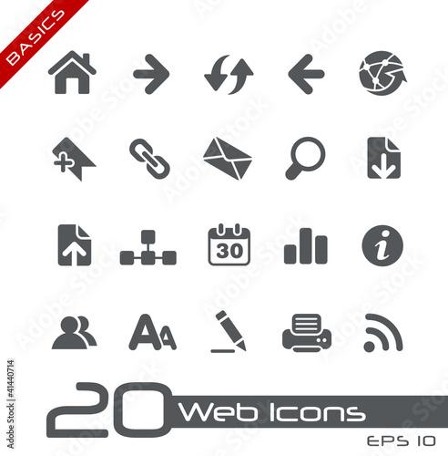 Web Icons // Basics