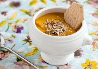 Veggie soup-puree