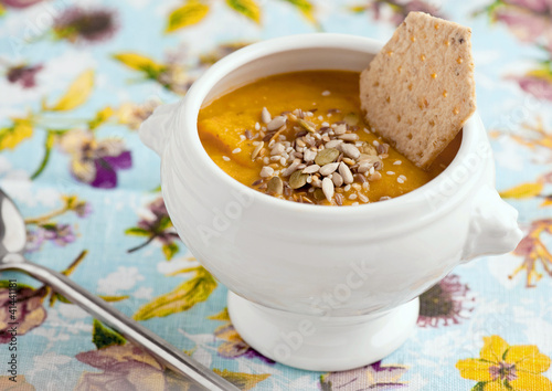 Veggie soup-puree