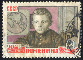 Lenin as Child