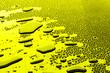 Leinwanddruck Bild - many water drops for background