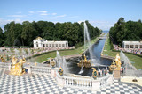 Grand Cascade Fountains of Peterhof Petersburg Russia