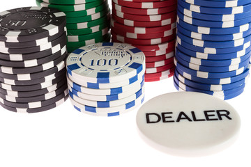 Casino and dealer chips
