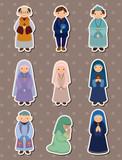 cartoon priest and nun