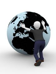 Pushing the world