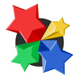 Creative color stars
