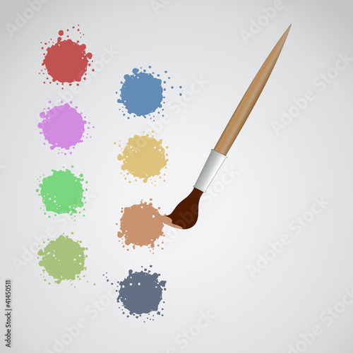Color art painting