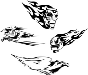 Miscellaneous Tattoo Aerographics Designs