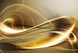 Goldene Wandfraktale