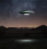 Ufo at night - Fine Art prints