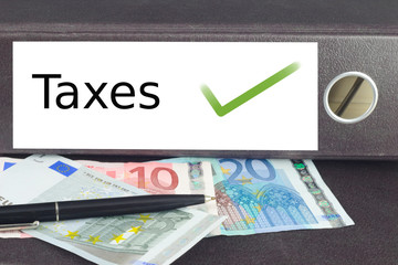 Steuern sind in Ordnung
