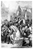 Charles VII & Joan of Arc - entering Rouen