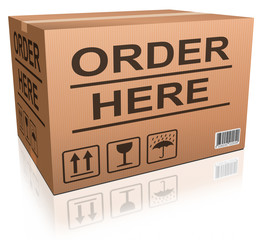 order here web shop icon