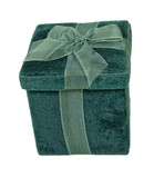 Velvet Box With a Bow