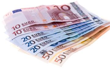 Banknotes of euros