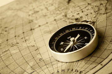 compass old