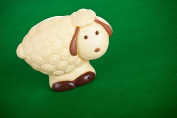 Pecorella nel prato