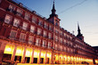 Night at Plaza Mayor