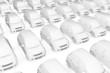 White Modell Cars