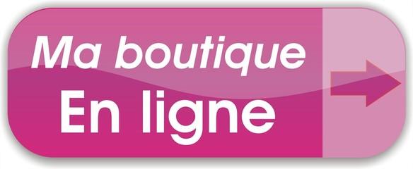 bouton ma boutique en ligne