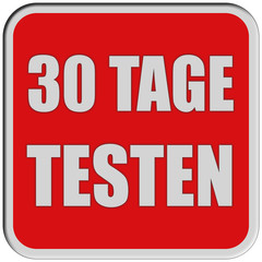 Sticker rot quad rel 30 TAGE TESTEN