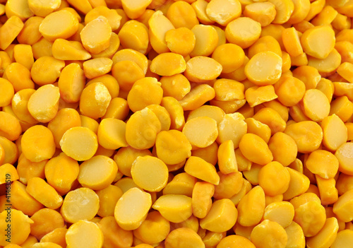 pile of yellow gram pulse