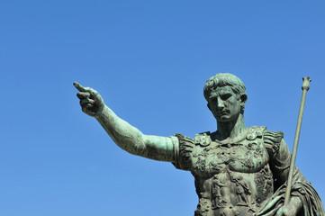 Trajan's statue, Rome