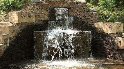 Waterfall: Ornamental Waterfall