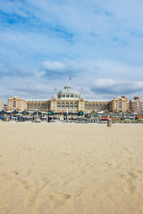 beach in Scheveningen, Hague, Holland