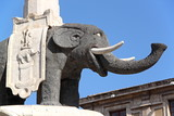 The Elephant, symbol of Catania, Italy