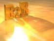 3D B2B Gold text