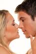 Paar hat Spass. Liebe, Erotik und Zärtlichkeit im