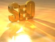 3D SEO Gold text