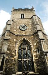 St Botolph's Church at Trumpington Street in Cambridge, UK