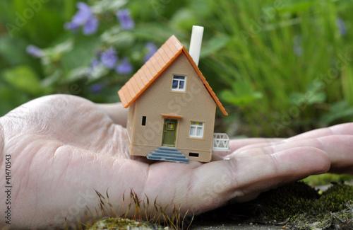 Ein Häuschen auf dem Lande