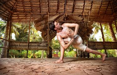 Yoga in Indian shala