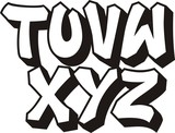 Fototapety vector graffiti font alphabet (part 3)