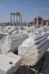 Apollon-Temppel in Side, Türkei