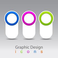 label vector progress icons.