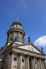 One of the most beautiful squares in Berlin, the Gendarmenmarkt,