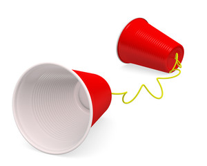 Plastic Cup Telephone