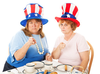 Tea Party Voters - Upset