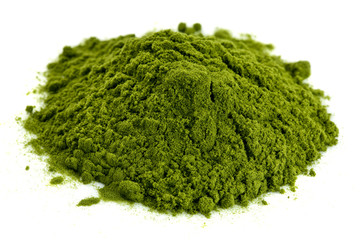 freeze-dried organic wheat grass powder
