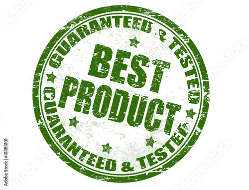 Guaranteed & tested - best product stamp