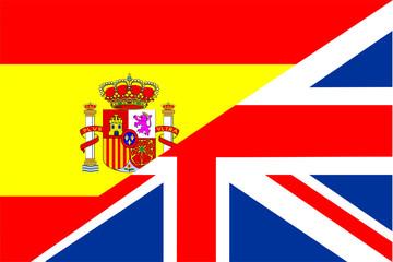 spain uk flag